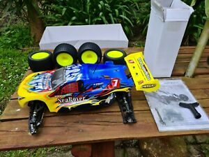 HSP 1/8 NITRO 4WD OffRoad Truggy(Sea Rover) SH PT-21 New In Box, RTR, Extra Long