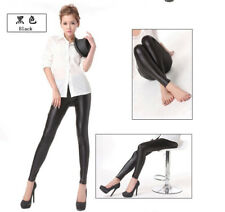 Fashion new  Womens Pvc Leather High Waist Leggings Matte Tight Trousers Pants