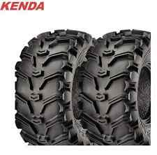 KENDA 6 PLY Bear Claw 25x12-9 ATV Tire Set of 2 TIRES 25x12.5-9 Pair Bearclaw