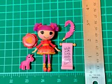 Lalaloopsy Mini Lady Writes a Poem Doll Pet & Accessories Complete Set Lot L519