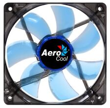 AeroCool Lightning 12cm 120mm Blue Led Case Fan, 41.40CFM, 22.5dB(A), OEM