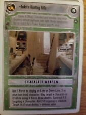 Star Wars CCG WB A New Hope Unlimited Luke's Hunting Rifle NON-Mint