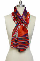 Multi Pattern Colorful Scarf
