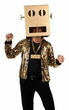 LMFAO Shuffle Bot-Party Rock Anthem Costume-XL ( Fits Jacket Size 38-44 )