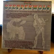 STEPPENWOLF-DUNHILL-DS 50060-EARLY STEPPENWOLF-LIVE LP-c1969-ORIGINAL COPY
