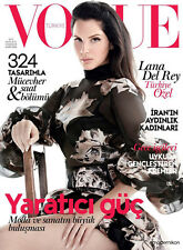 VOGUE Magazine TURKEY November 2015 Lana Del Rey by Liz Collins NEW