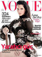 VOGUE Magazine TURKEY November 2015 Lana Del Rey Liz Collins Johnny Depp NEW