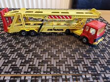 Majorette Car Transporter Lorry Renault saviem & toy truck