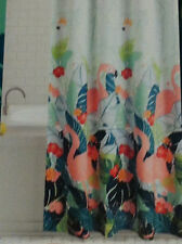 Celebrate Summer Together Fabric Shower Curtain - Tropical