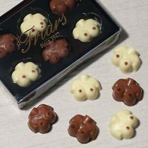 Chocolate Breasts Boobs Busts Milk White Novelty Novelties Gift Set 6 Pack 72g