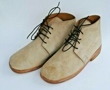 Brogans - Natural Brown Leather - Sizes 6-14 - Civil War - Free Shipping!