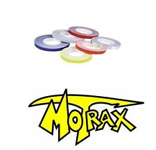 Motrax Motorcycle/Motorbike Bicycles Wheel Stripes 7mm BLUE with Applicator