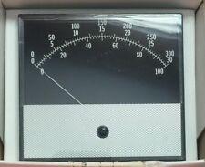 TRIPLETT 420G 164-34 ANALOG PANEL METER SCALE: 0-30/100/300 INPUT: 0-1DCV