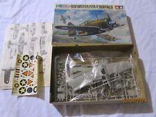 Tamiya 1:48 Brewster F2A-2 Buffalo Plastic Aircraft Model Kit #MA119