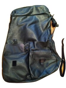 Bill amberg soft leather designer unisex bag