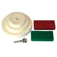 Silverline 153203 Polishing Kit 6pc 50, 75, 100mm