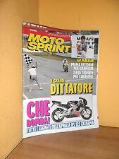 MotoSprint - n° 17 - 22/28 Aprile 1992 - Aprilia RS 125 Extrema - Rivista