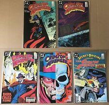 Crimson Avenger 1-4 + Secret Origins 5 (1988)