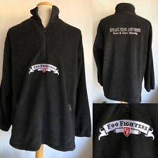 """FOO FIGHTERS (2005) """"In Your Honor"""" Tour Issued CREW Fleece Jacket Size Large"""