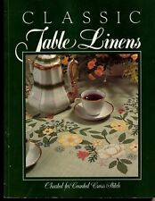 Just Cross Stitch Classic Table Linens Book