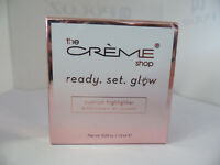 New The Creme Shop Ready. Set. Glow. Cushion highlighter PINK GLOW