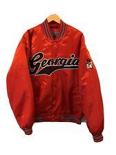Vintage University Of Georgia Bulldogs Bomber Varsity Jacket 80's/90's  Sz Large