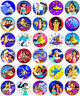 30 x Aladdin Party Edible Rice Wafer Paper Cupcake Toppers