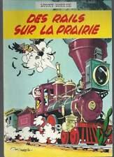MORRIS / GOSCINNY . LUCKY LUKE N°9 . RÉÉD. 4ème PLAT JAUNE . 1963 . DES RAILS
