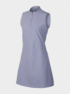 Nike Flex Golf Dress AV3668-506 Lila Damen Sport Kleid Rock Ball Dri-Fit Neu XL