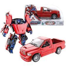 Alternadores Transformers Optimus Prime Dodge Ram Figura De Acción Nueva