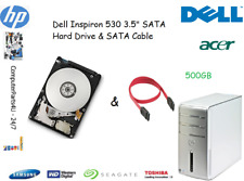 "500GB Dell Inspiron 530 3.5"" SATA Hard Disk Drive (HDD) Replacement / Upgrade"
