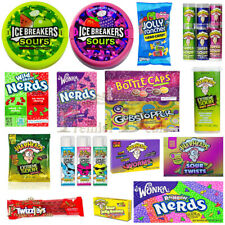 AMERICAN CANDY USA SWEETS WARHEADS THEATRE BOX US SOUR FIZZY US IMPORT UK SELLER