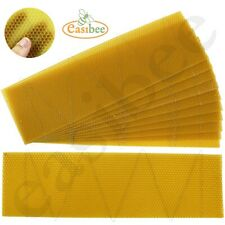 Langstroth Bee Hive Super Wired Wax Foundation Sheets Beekeeping Easibee