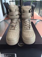 Nike SF AF1 Special Field Air Force 1 Desert Camo Chino Stone 864024 202 Sz 13