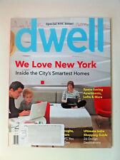 Dwell Magazine March 2011-CITY SMART HOMES SPECIAL ISSUE WE LOVE NEW YORK NYC