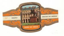 Colorful themed cigar Band: Budapest
