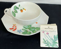Wedgwood *CHELSEA GARDEN* LARGE CUP & OCTAGONAL SAUCER W/NOTE CARD