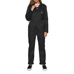 Dickies Haughton Ls W Womens Skirt/dress Jumpsuit - Black All Sizes