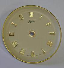 "Vintage 3-1/2"" German Kundo Anniversary Clock Dial (C-654)"