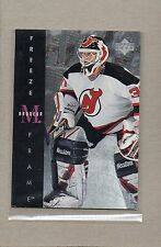 martin brodeur new jersey devils insert card 1995/96 ud freeze frame f14