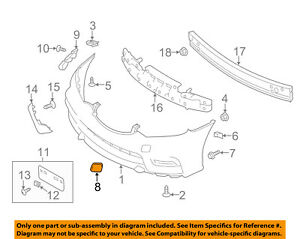 NISSAN OEM 17-18 Sentra FRONT BUMPER-Tow Bracket Cover 622A04FU0H