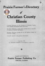 Christian Co Illinois Taylorville Pana  IL genealogy directory history
