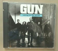 """GUN - """"Taking On The World"""" CD - 1989 A&M Records"""
