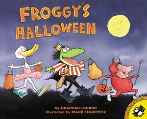 Froggy's Halloween  by Jonathan London (Paperback) FREE shipping $35