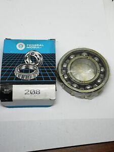 Wheel Bearing-Ball Bearing Federal Mogul 208 NOS