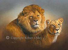 Paintings/Posters/Prints Lion Collectables