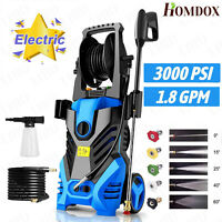 3000PSI 1.8GPM Electric Pressure Washer Home High Power Cleaner Machine Best _-