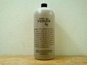 Philosophy Sweet Vanilla Fig Shampoo & Shower Gel (64 oz) Brand New & Sealed