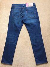 Levi's 511 Slim Fit Men's Blue Jeans, Size W34, L32, £90