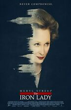 "The Iron Lady movie poster (a) - 11"" x 17"" inches - Meryl Streep poster"